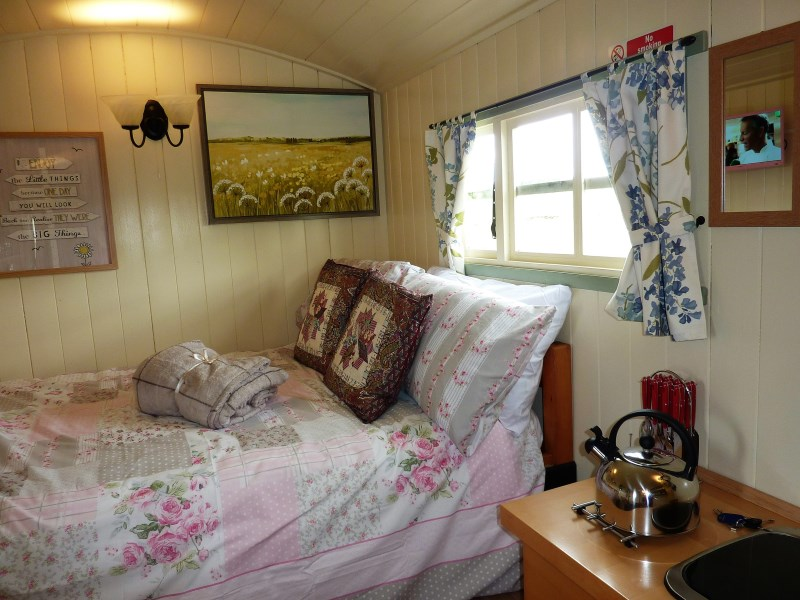The Buteland Stop Glamping in Bellingham, Northumberland
