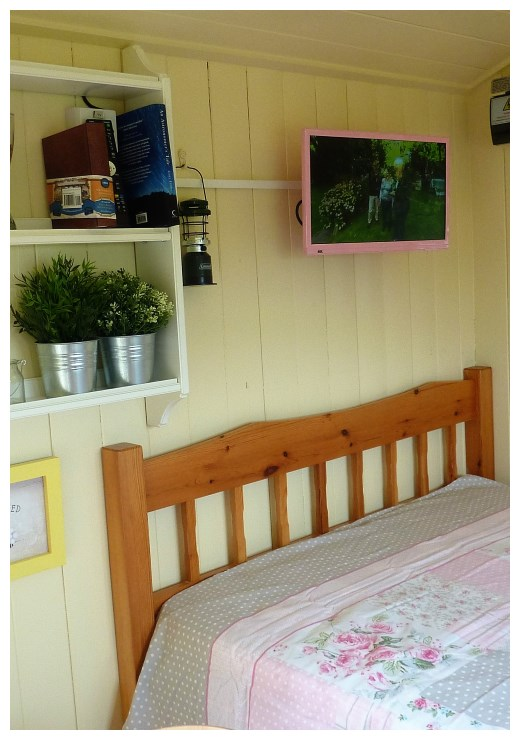 Shepherds Hut Camping Key Information in Bellingham, Northumberland